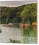 Ye Olde Swimmin Hole Wood Print