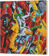 Ye'ii Bicheii Dancer Number Two Wood Print