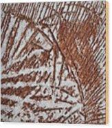 Yell - Tile Wood Print