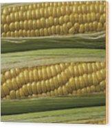 Yellow Corn Wood Print
