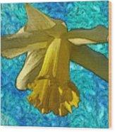 Yellow Daffodil 3 Wood Print