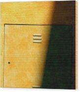 Yellow Escape Wood Print