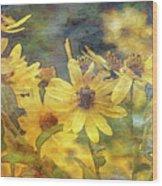 Yellow Flower View 4851 Idp_2 Wood Print
