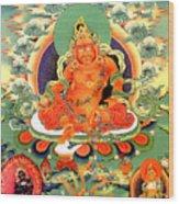 Yellow Jambhala 20 Wood Print
