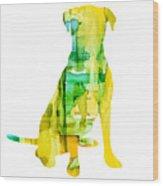 Yellow Lab Wood Print