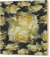 Yellow Roses 2 Wood Print
