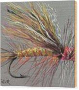 Yellow Sally Stonefly Wood Print
