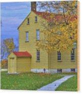 Yellow Shaker House 2 Wood Print