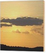 Yellow Sky Two Wood Print