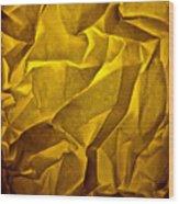 Yellow Sorrow Wood Print