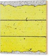 Yellow Stone Wood Print