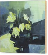 Yellows Wood Print