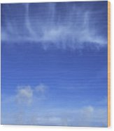 Yellowstone Basin Wood Print