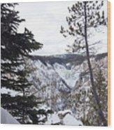 Yellowstone Canyon Wood Print