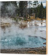 Yellowstone Colors #2 Wood Print