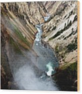 Yellowstone Fall Wood Print