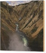 Yellowstone Grand Canyon Wood Print