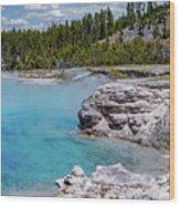 Yellowstone Grand Prismatic Spring Wood Print