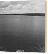 Yellowstone Lake Wood Print