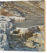 Yellowstone Mineral Features 3 Wood Print