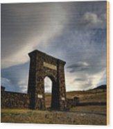 Yellowstone North Gate Wood Print