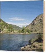 Yellowstone Serenity   Wood Print
