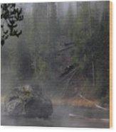Yellowstone Series 12 Wood Print