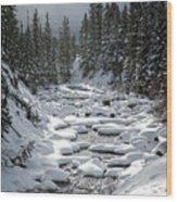 Yellowstone -  Soda Butte Creek Wood Print