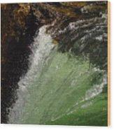 Yellowstone Upperfalls Wood Print