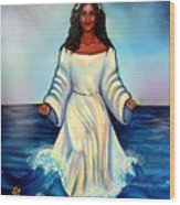 Yemaya- Mother Of All Orishas Wood Print