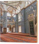 Yeni Cami Mosque Wood Print