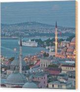 Yeni Camii Wood Print