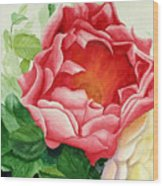 Yes It Is A Rose Wood Print