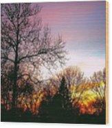 Yesterday's Sky Wood Print
