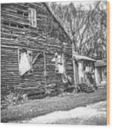 Yesteryear Old Slave Quarters Wood Print