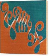 Yin And Yang, No. 3 Wood Print