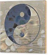 Yin Yang Harmony Wood Print