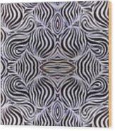 Ying And Yang Wood Print