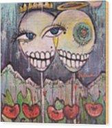 Yo Soy La Luna Wood Print