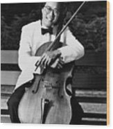 Yo-yo-ma (1955- ) Wood Print by Granger
