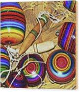 Yo Yos 7881 Wood Print