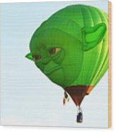 Yoda In The Sky Wood Print
