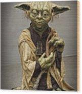 Yoda Wood Print