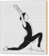 Yoga Now Wood Print