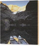 Yoho National Park, Lake Ohara, British Wood Print by Ron Watts