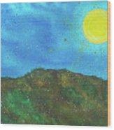 Yokun Ridge Wood Print