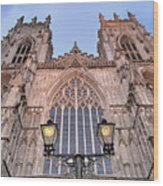 York Minster Wood Print