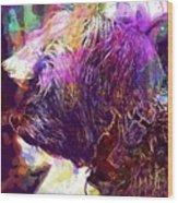 Yorkshire Puppy Domestic Animal  Wood Print