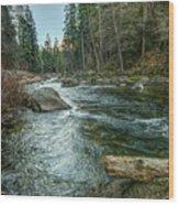 Yosemite #1 Wood Print