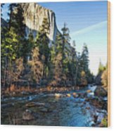 Yosemite Afternoon Wood Print
